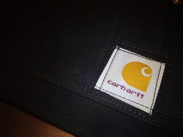 CARHARTT A09 DUCK NAIL APRON BLACK