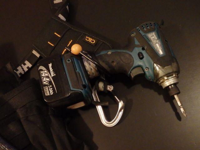 CLC cordless drill holder