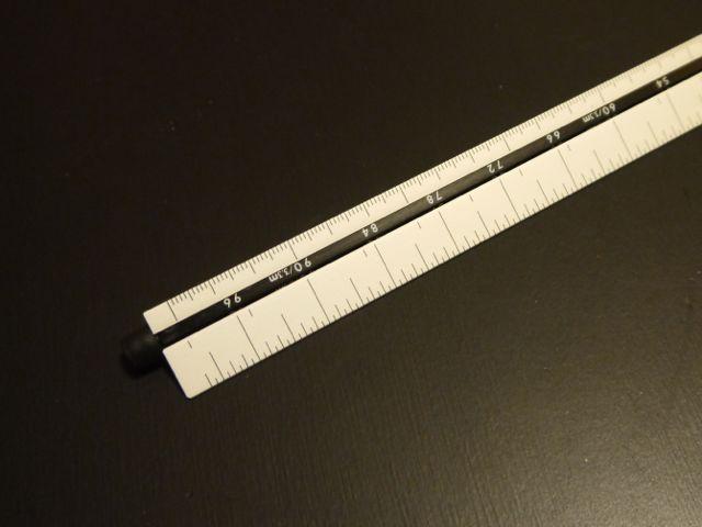 シンワ 三角回転スケール 30cm 尺相当目盛付ンワ 三角回転スケール 30cm 尺相当目盛付